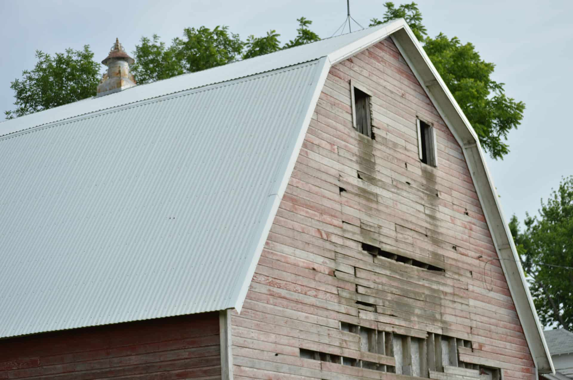 barn roof painting
