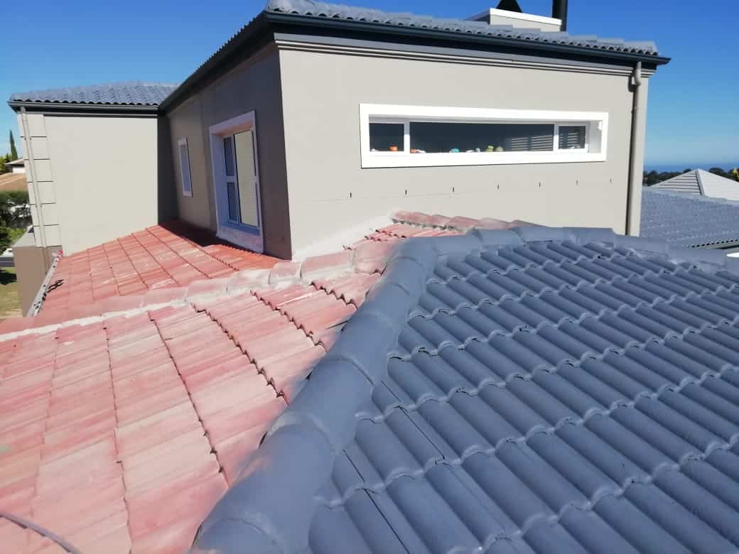 TILED ROOF PAINTING