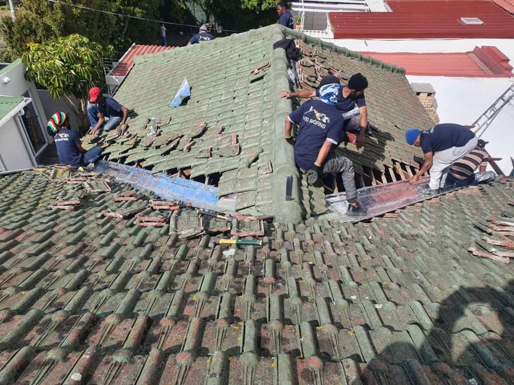 Valley Repair and Roof Painting